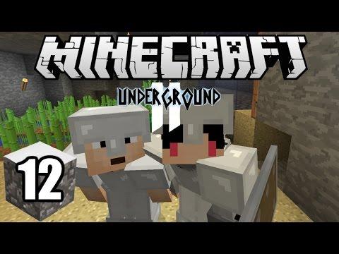 Minecraft Indonesia - Underground 2 : Membuat Farm Sugarcane dan Cactus! (12)