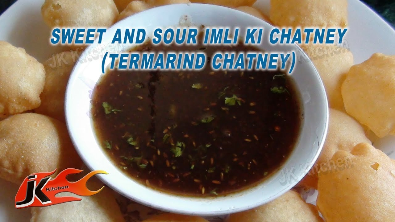 sweet and sour Tamarind chutney Imli ki Chutney Recipe