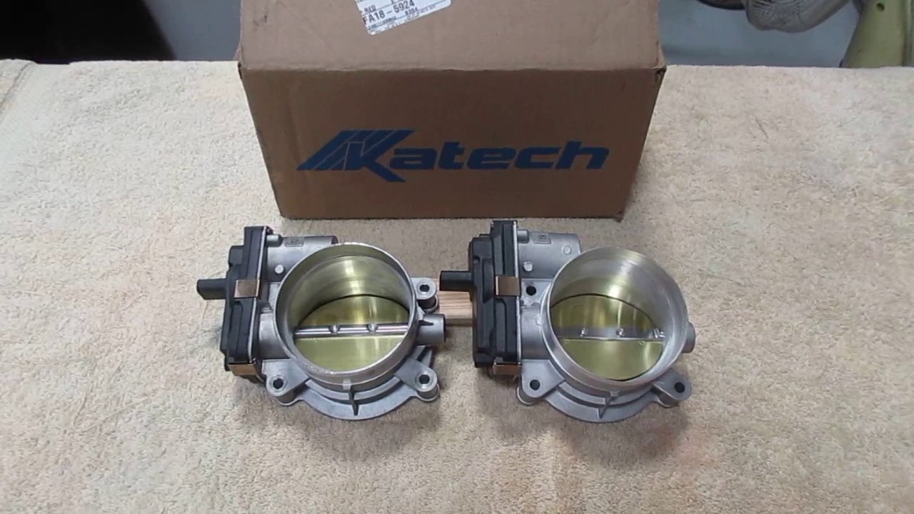 Gen 6 Camaro Lt1 Cnc Ported Throttle Body Vs Stock Youtube