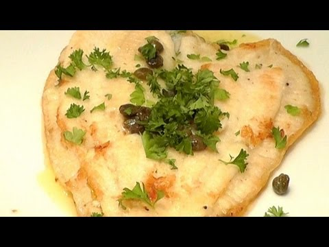 Pan Fry Fish Recipe PLAICE With Butter Lemon & Capers - Simple Delicious Recipe
