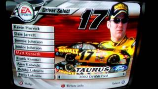 NASCAR THUNDER 2003 All Drivers and Paint Schemes