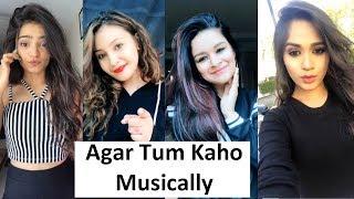 TumKo Bhulau Ki Palke Bichau Musically | Aashika, Jannat and Mrunu