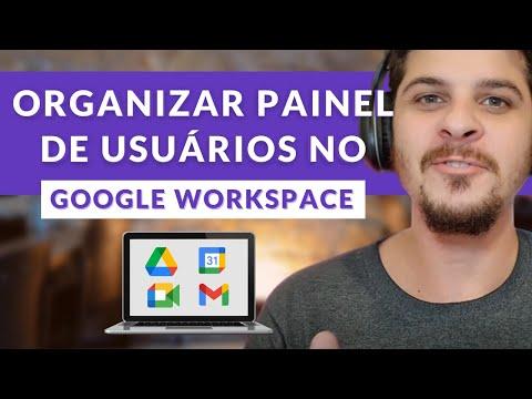 Dicas para Organizar seus Usuários no Google Workspace (antigo G Suite)-Colocar cargo, ramal, etc...