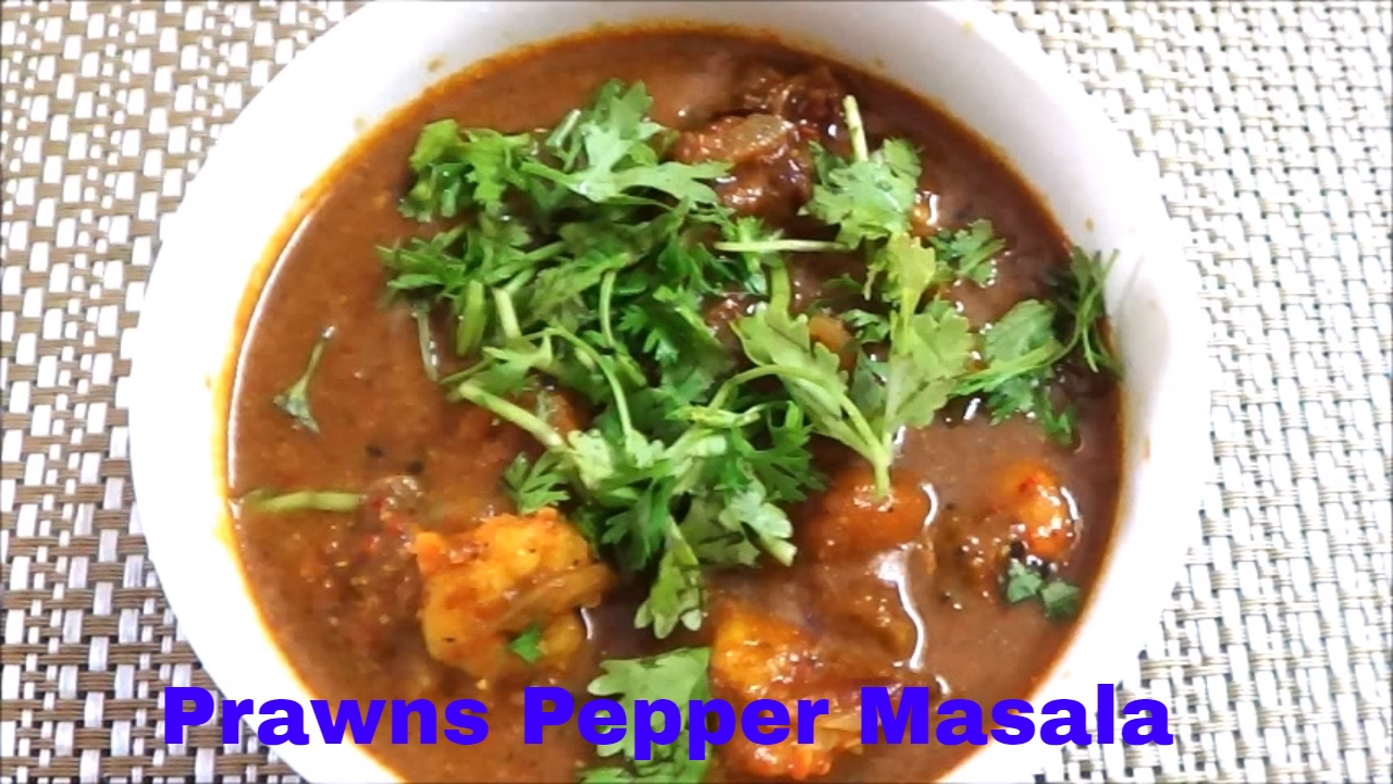 how to make pepper prawns