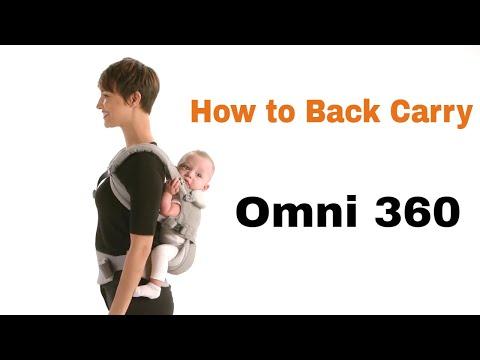 Ergo Back Carry   Omni 360   Ergobaby