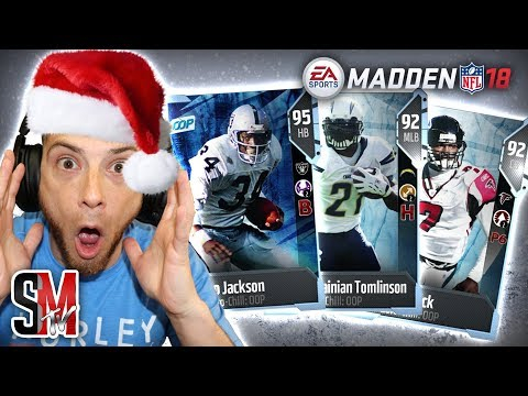 Completing EVERY Out Of Position (OOP) Boss & Master Bo Jackson!  Madden NFL 18 Pack Opening