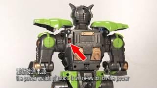 Відео іграшка роботи армагеддон (Бій роботів з отваливание частин)