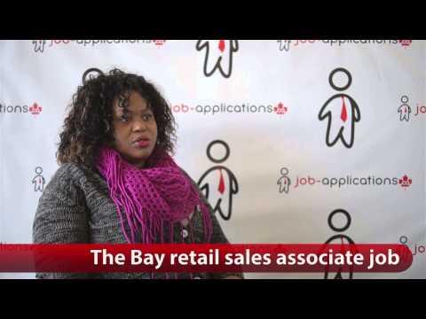 The Bay Retail Sales Associate Job