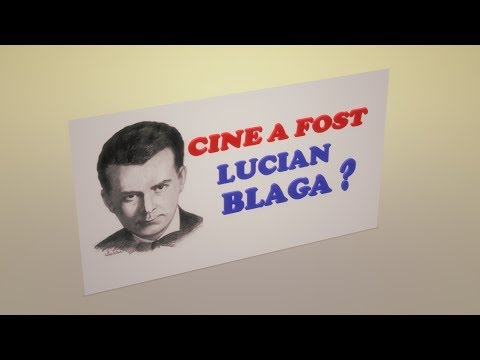 CINE A FOST LUCIAN BLAGA ?