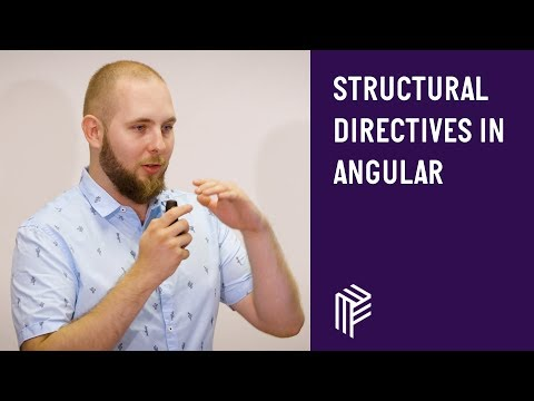 Thumbnail for Angular Vienna, Structural Directives in Angular, August 2018
