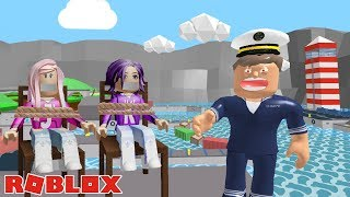 THE EVIL CAPTAIN HAS GONE MAD! / Roblox: Escape the Shipyard Obby ⛵