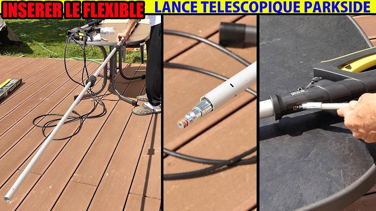 7,3/m Pression /à Laver t/élescopique Pole//Lance Pression de Nettoyage Extensible Karcher K5/K7/Outil de goutti/ère et buse de Lavage Gratuit