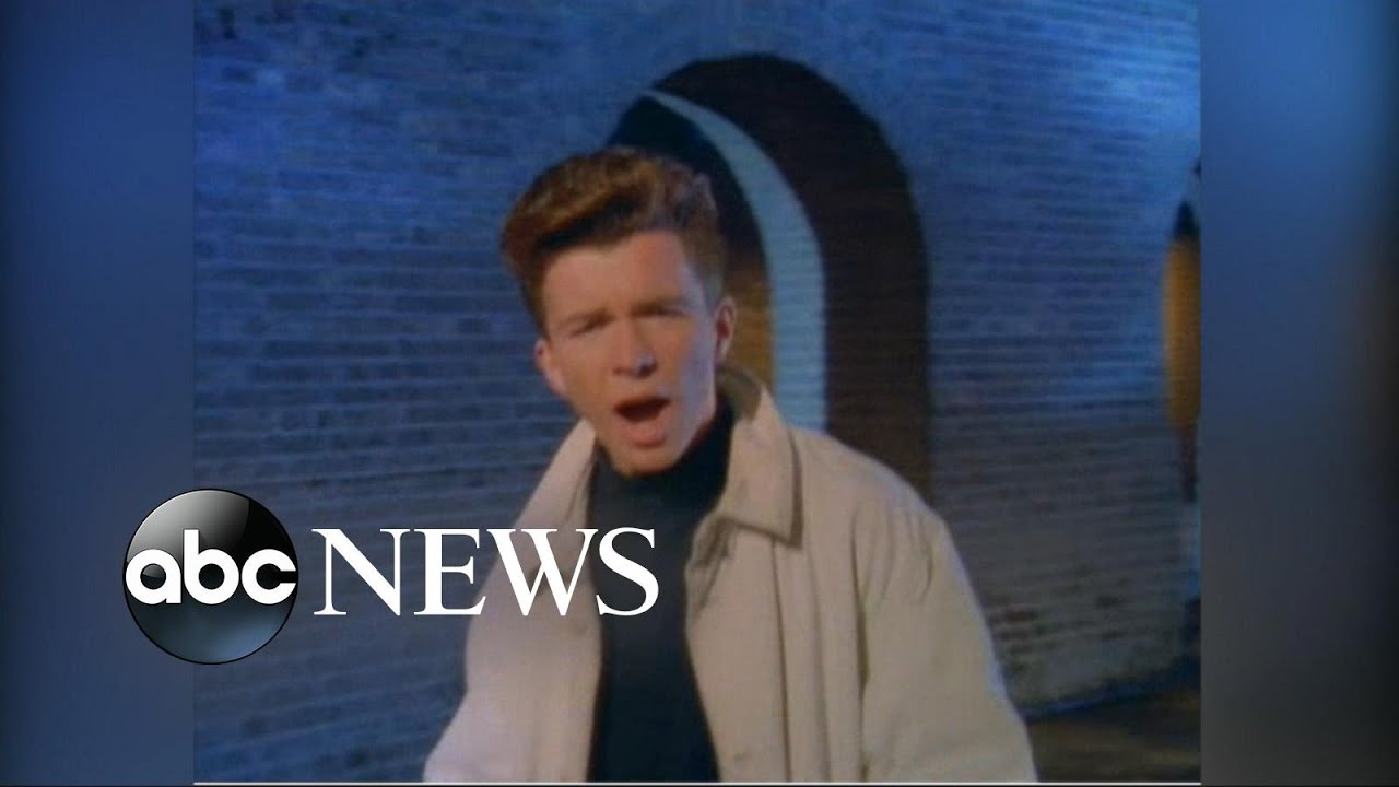 Rick Astley Never Gonna Give You Up Video Youtube - HD 1600×900