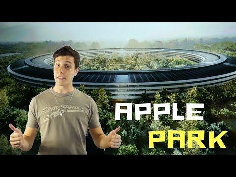 Conheça o APPLE PARK a sede da Apple que pode ser vista do ESPAÇO