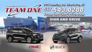 TEAM ONE Sign&Drive BUICK GMC Jan2018