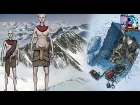 Antarctica Secrets Revealed Demons in Flesh Nordics Reptilians Alien Bases- Flat  earth conspiracy