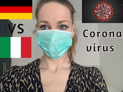 Coronavirus in Germania VS Coronavirus in Italia