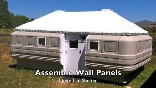 Quite Lite Shelter Assembly