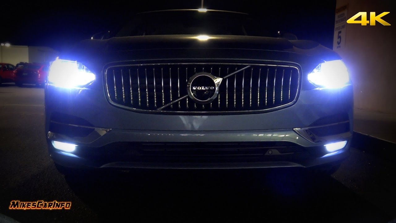 AT NIGHT: 2017 Volvo S90 T6 Inscription   YouTube