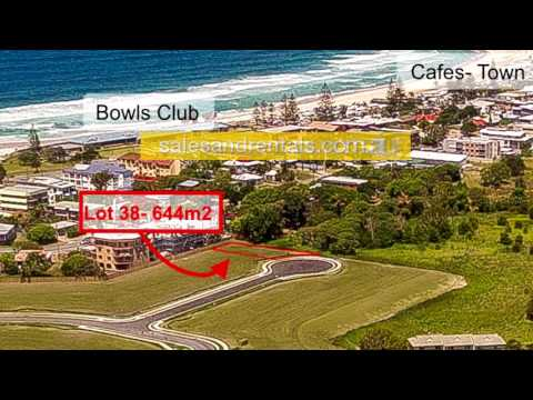 Premium beachside land for sale in Kingscliff