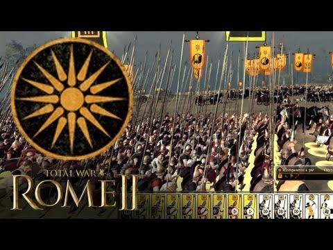 """JUGANDO Rome 2: Total War - """"Tácticas Alejandrinas Con Macedonia"""""""