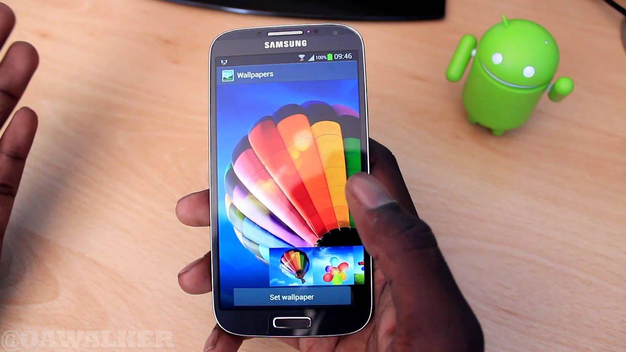 Samsung s4 default wallpaper