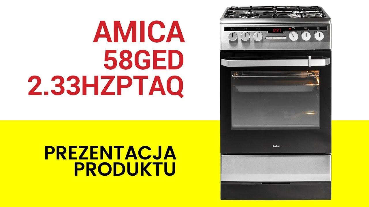 Amica 58ged233hzptaqxx Kuchnia Ceny I Opinie W Media Expert