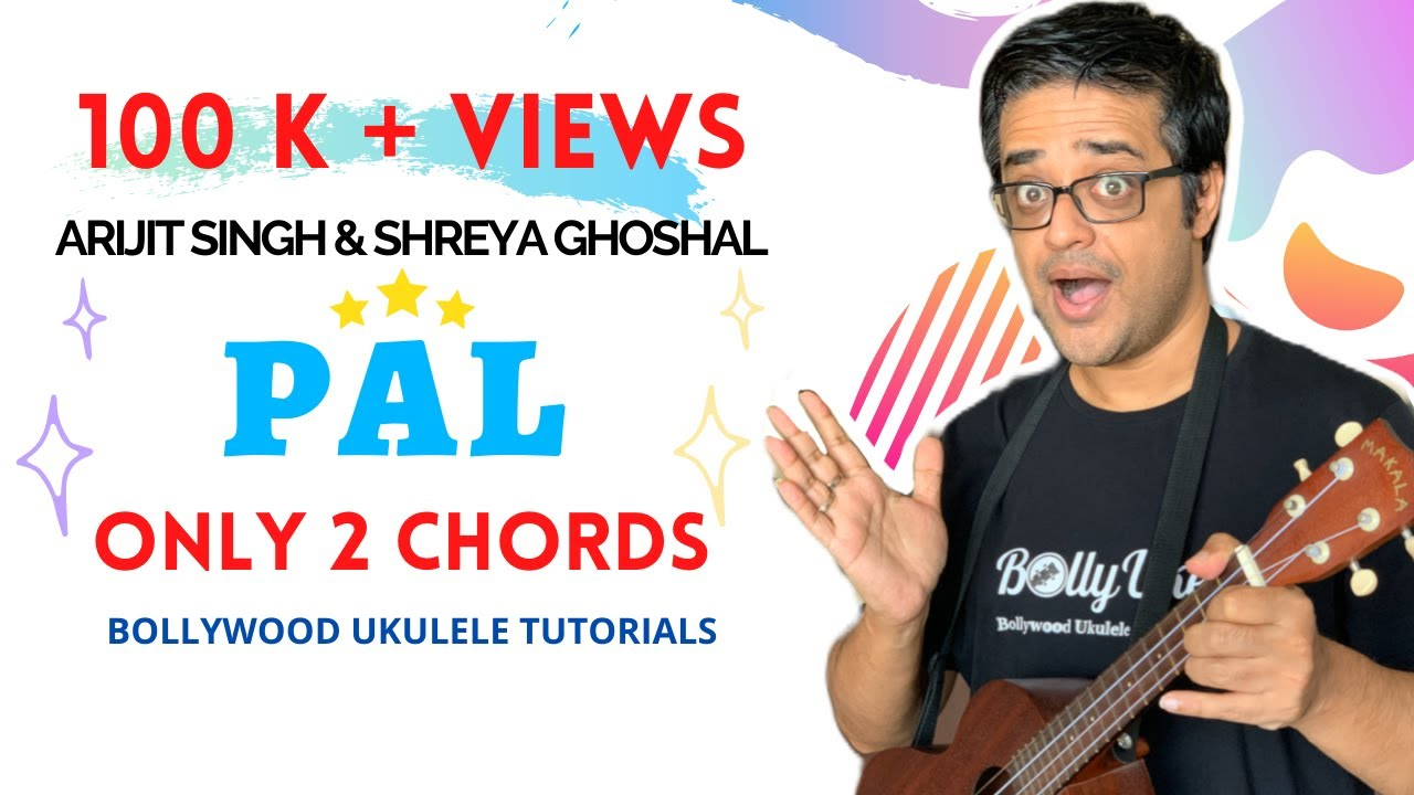Pal Arijit Shreya Only 2 Chords Easy Ukulele Tutorial Hindi Youtube In this video, i have taught how to play the song 'hona tha pyar' from the movie bol on ukulele using easy chords. pal arijit shreya only 2 chords easy ukulele tutorial hindi