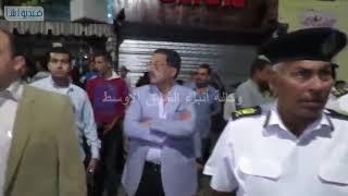 بالفيديو : مدير أمن الإسماعيلية يقود حملة امنية لازالة المخالفات والتعديات بمدينة الإسم