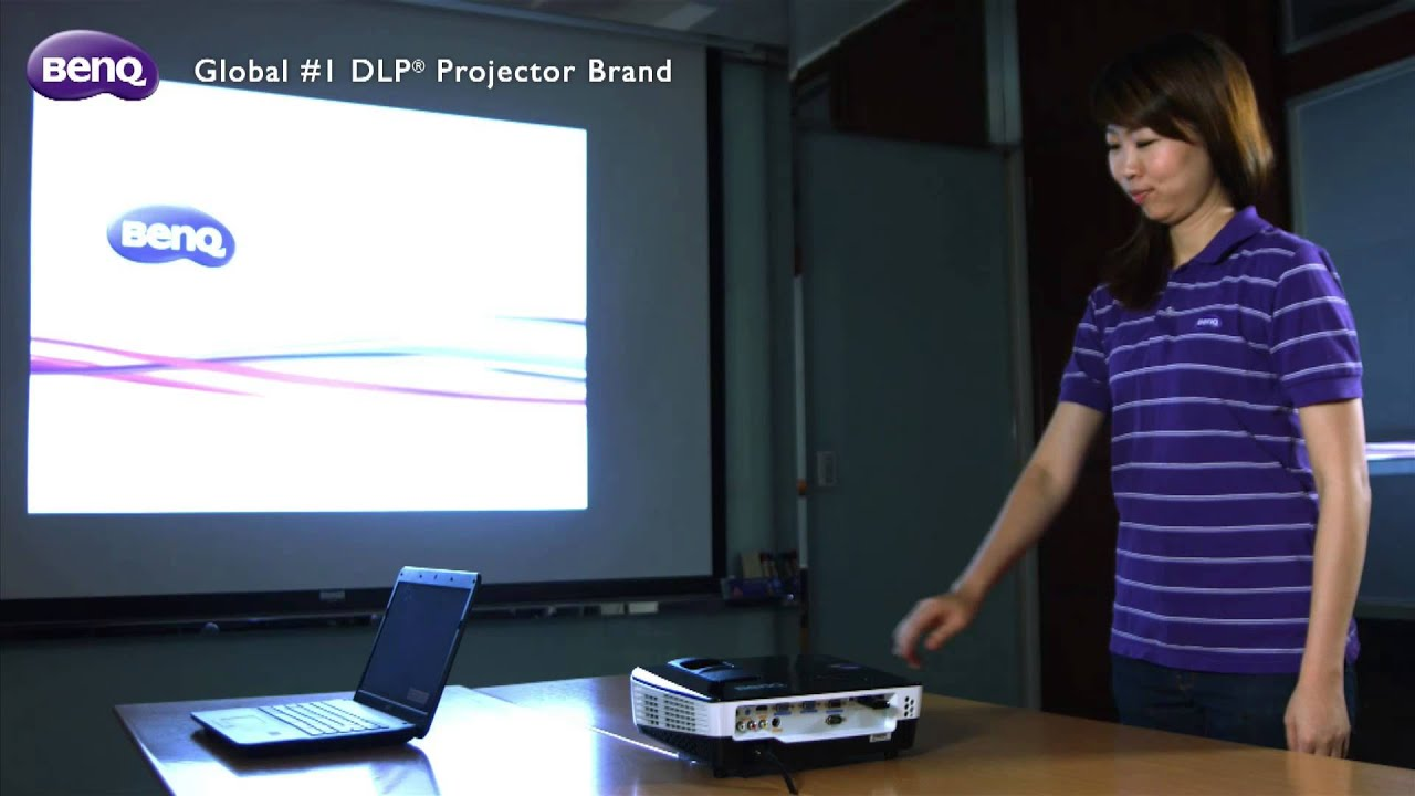 Benq Business Projector Quick Wireless Kit How To Set