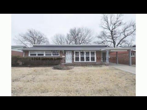 St. Louis Home for Sale: 1144 Burch Ln (University City)