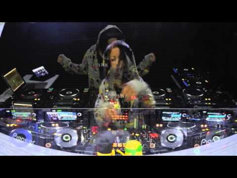 Dj VANESSA MORENO TECH HOUSE 2015 LİVE PERFORMANCE SET 3 CDJ 2000 NEXUS 4 DECK