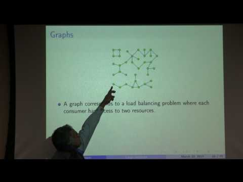 """ANC Colloquium: Venkat Anantharam: """"Studying large networks via local weak limit theory"""""""