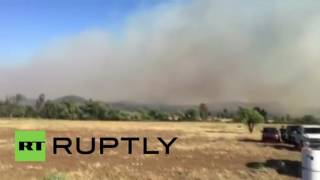 USA: Border fire grows 300-fold to 1,500 acres as Potrero is evacuated