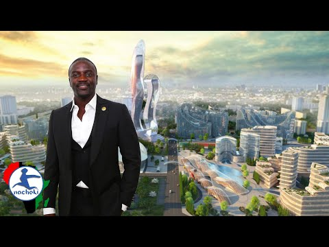 African Son Akon Building his Own City in Senegal Called Akon City