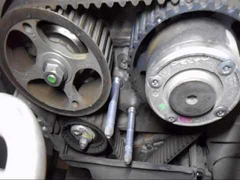 Замена ремня грм Рено Дастер (Renault Duster)