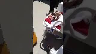 """فيديو.. """"حي"""" في ثلاجة الموتى بمستشفى عراقي"""