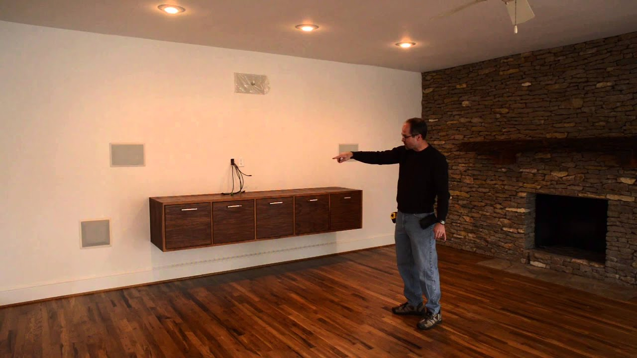 Custom Media Cabinets Fort Worth   YouTube