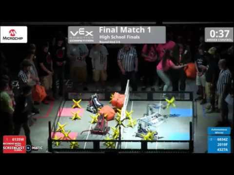 Vex Starstruck US OPEN High School Finals Match 1