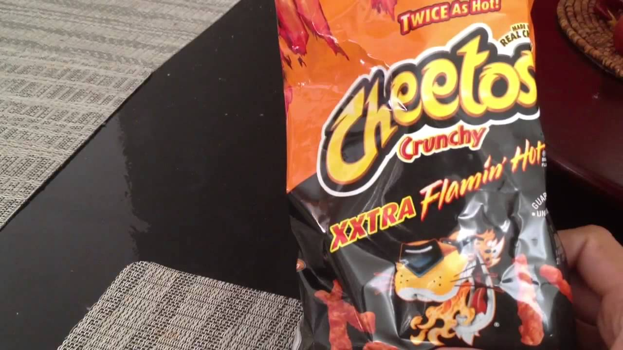 Cheetos Xxtra Flamin Hot Review Youtube
