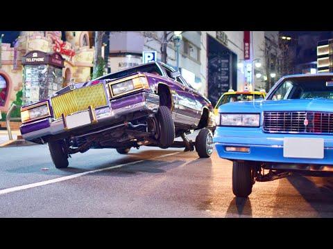 【渋谷ジャック】ローライダーたちが渋谷でパフォーマンス!他USスタイルのカスタムカーサウンド/Shibuya jack, Lowrider's performance in Shibuya❕