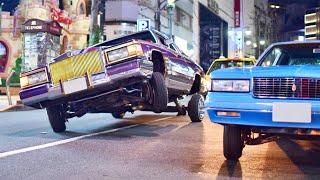 【渋谷ジャック】ローライダーたちが渋谷でパフォーマンス!他USスタイルのカスタムカーサウンド/Shibuya jack, Lowrider