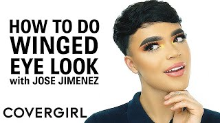 How to Do Winged Eyeliner Tutorial | COVERGIRL