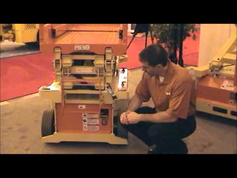JLG 6RS  10RS Electric Scissor Lift - wwwgalmon - YouTube