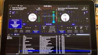 Traktor X1 with Serato DJ Midi Mapping (FX & Looping) Part 2