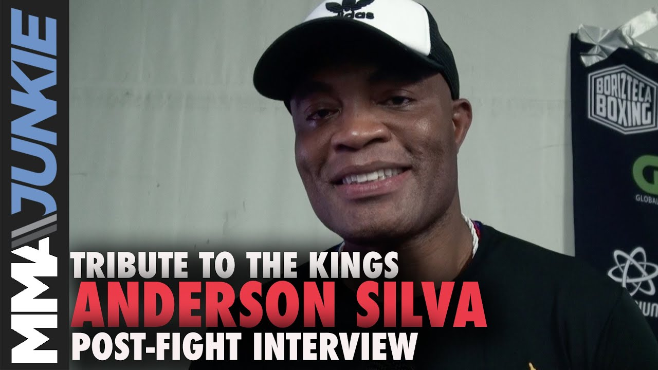 Video: Anderson Silva reflects on boxing win over Julio Cesar ...
