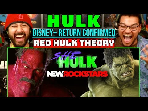 HULK Disney+ RETURN CONFIRMED! (Red Hulk Theory) | REACTION!!!