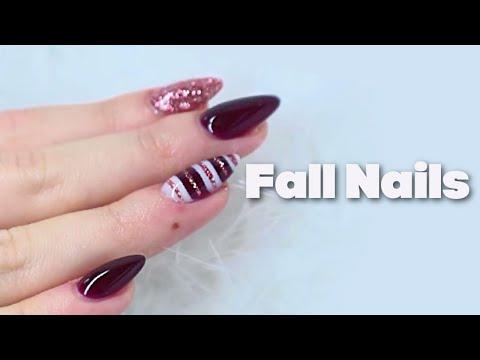 Elegant Fall Nails