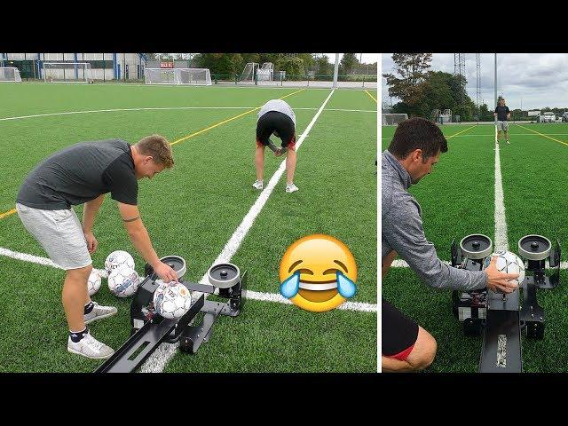 TESTER FOTBALL KANON!