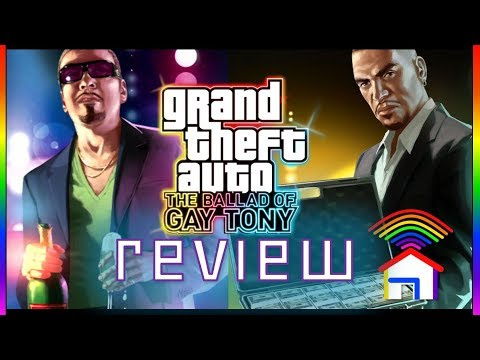 Grand Theft Auto IV: The Ballad of Gay Tony review - ColourShed